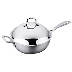 Mary Stainless Steel Wok